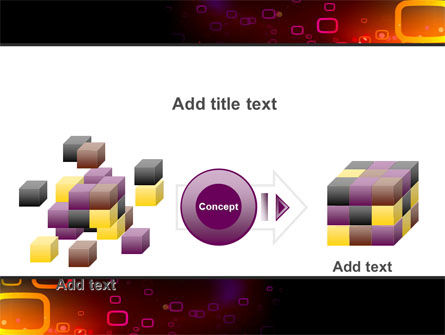 Abstract Dark Brown Graphic PowerPoint Template Slide 17