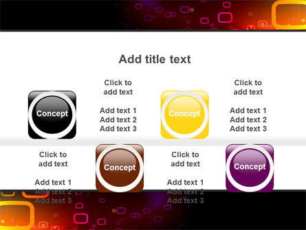Abstract Dark Brown Graphic PowerPoint Template Slide 18