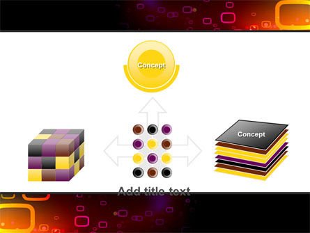 Abstract Dark Brown Graphic PowerPoint Template Slide 19