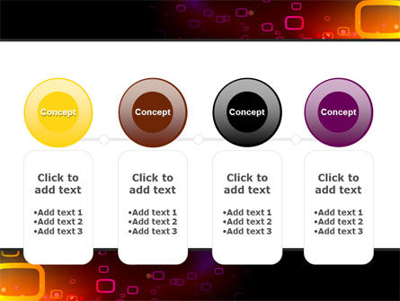 Abstract Dark Brown Graphic PowerPoint Template Slide 5