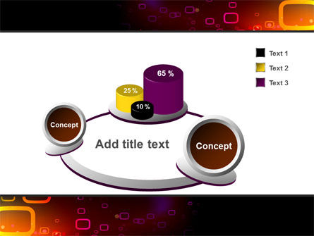 Abstract Dark Brown Graphic PowerPoint Template Slide 6