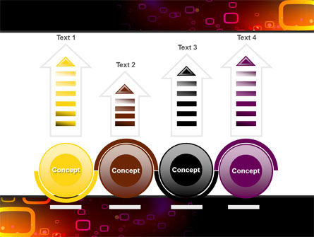 Abstract Dark Brown Graphic PowerPoint Template Slide 7