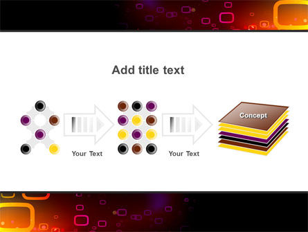 Abstract Dark Brown Graphic PowerPoint Template Slide 9