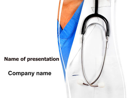 Physician PowerPoint Template, 06055, Medical — PoweredTemplate.com