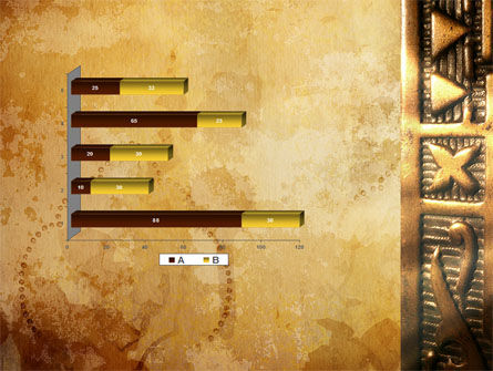 Antique Keyhole PowerPoint Template Slide 11