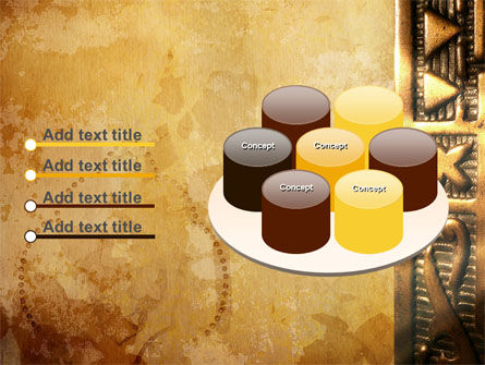 Antique Keyhole PowerPoint Template Slide 12