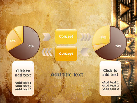 Antique Keyhole PowerPoint Template Slide 16