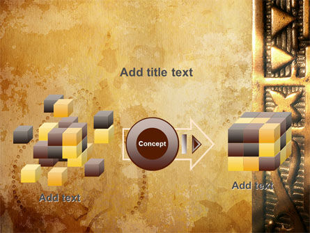 Antique Keyhole PowerPoint Template Slide 17