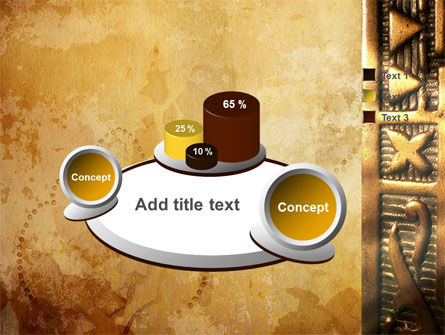 Antique Keyhole PowerPoint Template Slide 6