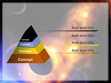 Solar Storm PowerPoint Template, Slide 4, 06058, Nature & Environment — PoweredTemplate.com