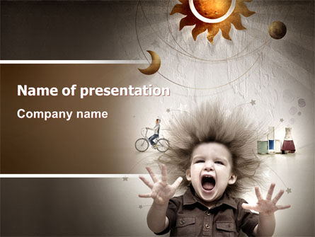 Education & Training: Kids and Science PowerPoint Template #06059
