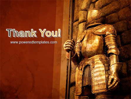 Knight Armor PowerPoint Template Slide 20