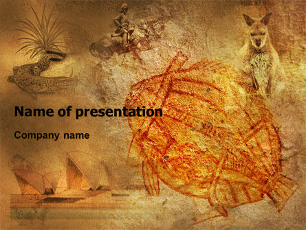 Australian Culture PowerPoint Template