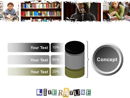 Literature PowerPoint Template Slide 11