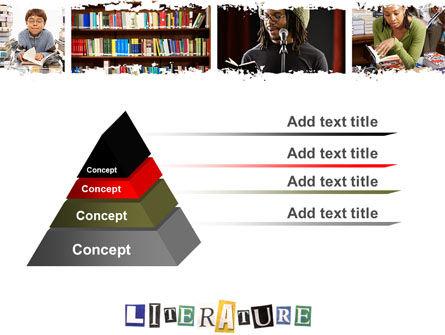 Literature PowerPoint Template Slide 12