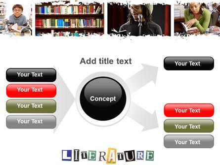 Literature PowerPoint Template Slide 14