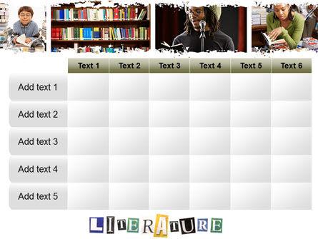 Literature PowerPoint Template Slide 15