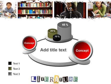 Literature PowerPoint Template Slide 16