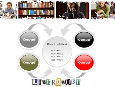 Literature PowerPoint Template Slide 6