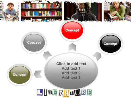 Literature PowerPoint Template Slide 7