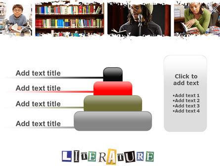 Literature PowerPoint Template Slide 8