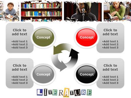 Literature PowerPoint Template Slide 9