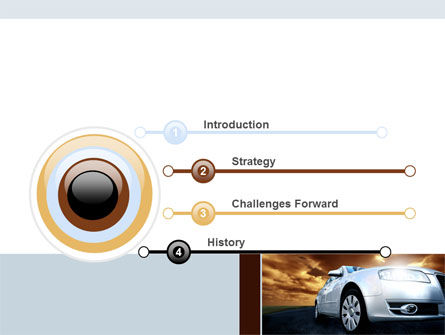 Open Road PowerPoint Template, Slide 3, 06070, Cars and Transportation — PoweredTemplate.com