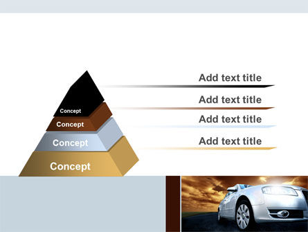 Open Road PowerPoint Template, Slide 4, 06070, Cars and Transportation — PoweredTemplate.com