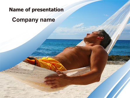 Careers/Industry: Hammock Free PowerPoint Template #06071
