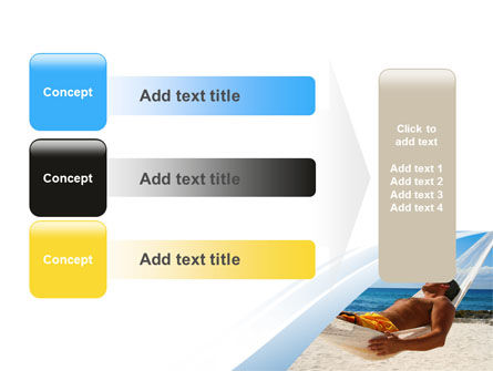 Hammock Free PowerPoint Template Slide 12