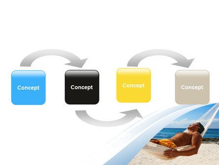 Hammock Free PowerPoint Template, Slide 4, 06071, Careers/Industry — PoweredTemplate.com