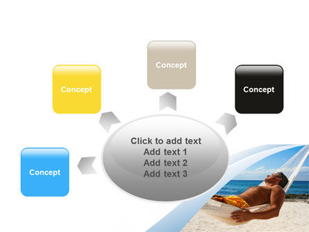 Free Hammock PowerPoint Template Slide 7
