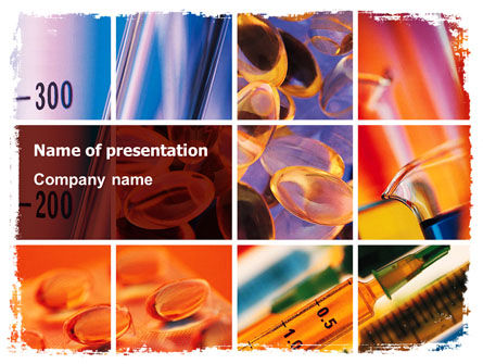 Medical: Vitamins PowerPoint Template #06073