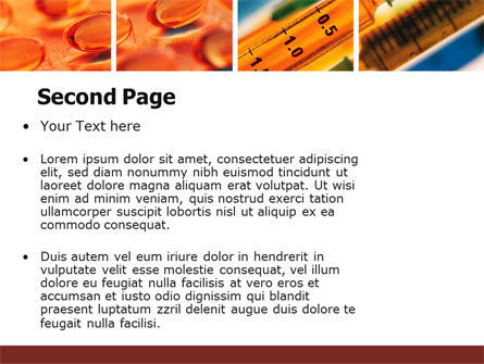 Vitamins PowerPoint Template Slide 2