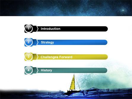 Moonlit PowerPoint Template, Slide 3, 06075, Nature & Environment — PoweredTemplate.com