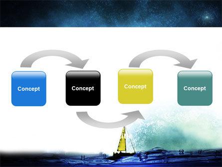 Moonlit PowerPoint Template, Slide 4, 06075, Nature & Environment — PoweredTemplate.com