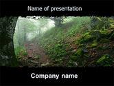 Nature & Environment: Deep Woods PowerPoint Template #06077