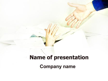 Office Routine PowerPoint Template, 06080, Business — PoweredTemplate.com