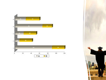 Graduator On The Roof PowerPoint Template Slide 11