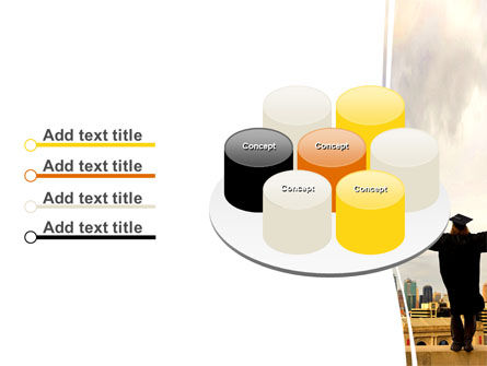 Graduator On The Roof PowerPoint Template Slide 12