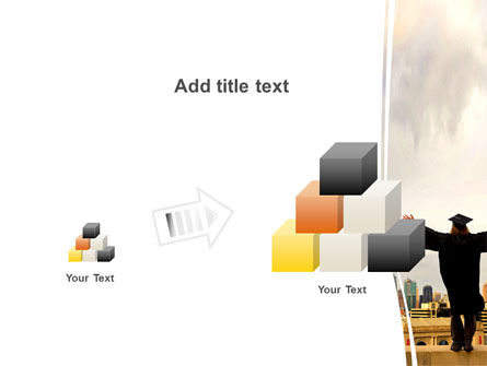 Graduator On The Roof PowerPoint Template Slide 13
