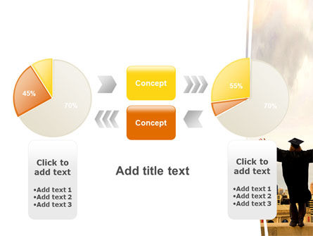 Graduator On The Roof PowerPoint Template Slide 16