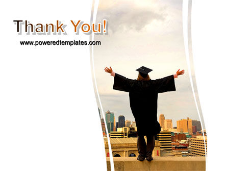 Graduator On The Roof PowerPoint Template Slide 20