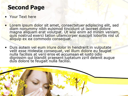 Allergy PowerPoint Template Slide 2