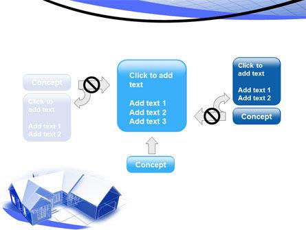 House Plan PowerPoint Template Slide 13