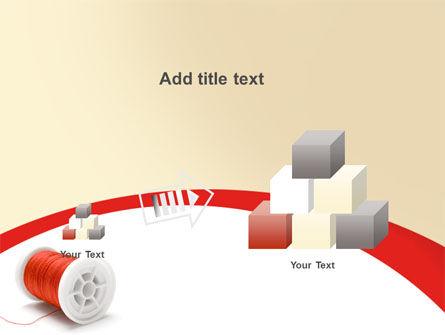 Spool PowerPoint Template Slide 13