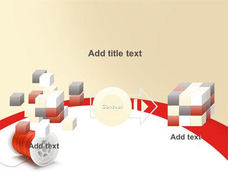 Spool PowerPoint Template Slide 17