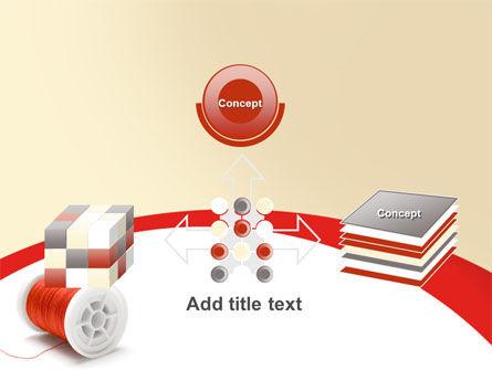 Spool PowerPoint Template Slide 19