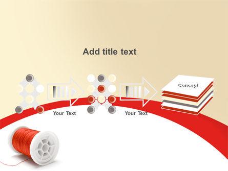 Spool PowerPoint Template Slide 9