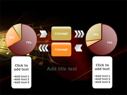 Music Stave PowerPoint Template Slide 16